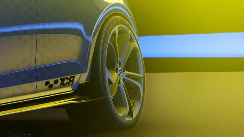 Volkswagen Golf GTI TCR pripremljen za Wörthersee