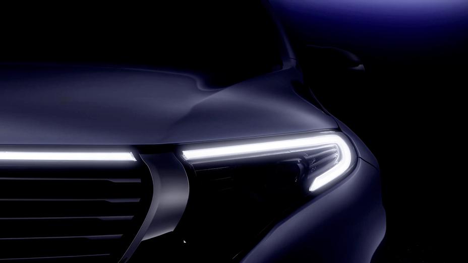 Najavna fotografija Mercedes-Benzovog modela EQC
