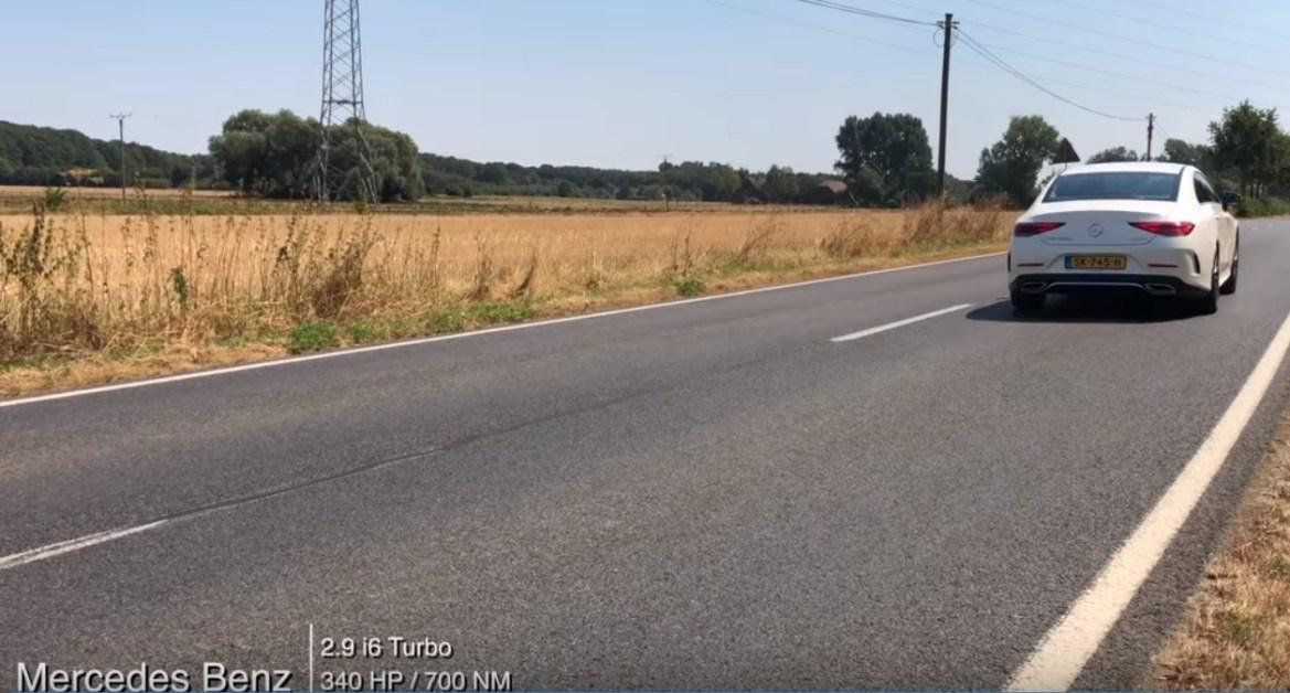 Video: Test ubrzanja novog Mercedesa CLS