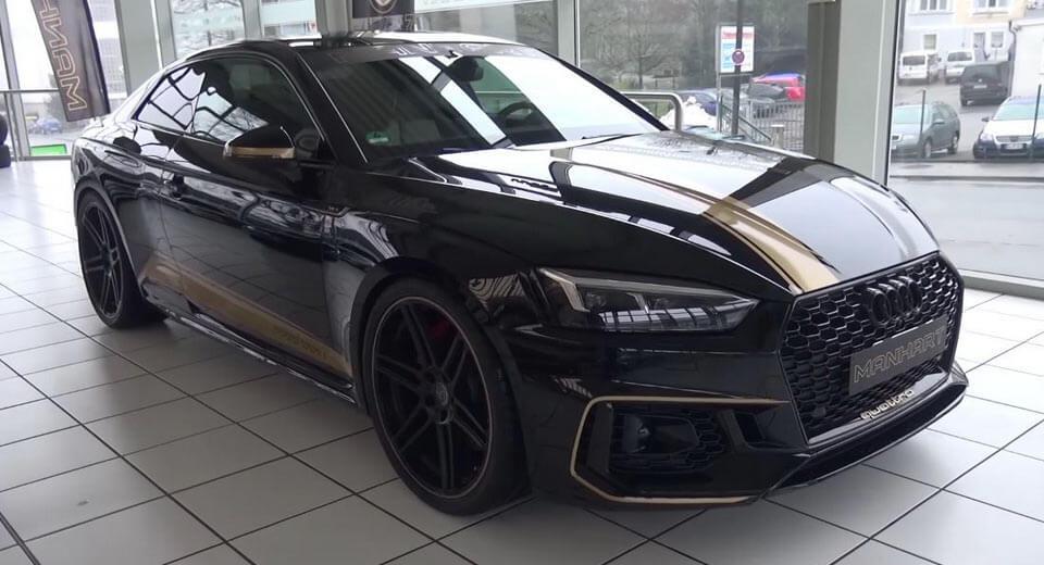 Manhart osnažio Audi RS5 za 50 KS i 100 Nm