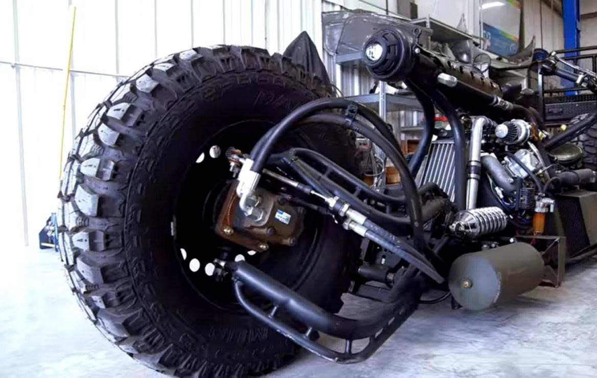 Dizelsko čudovište na dva kotača