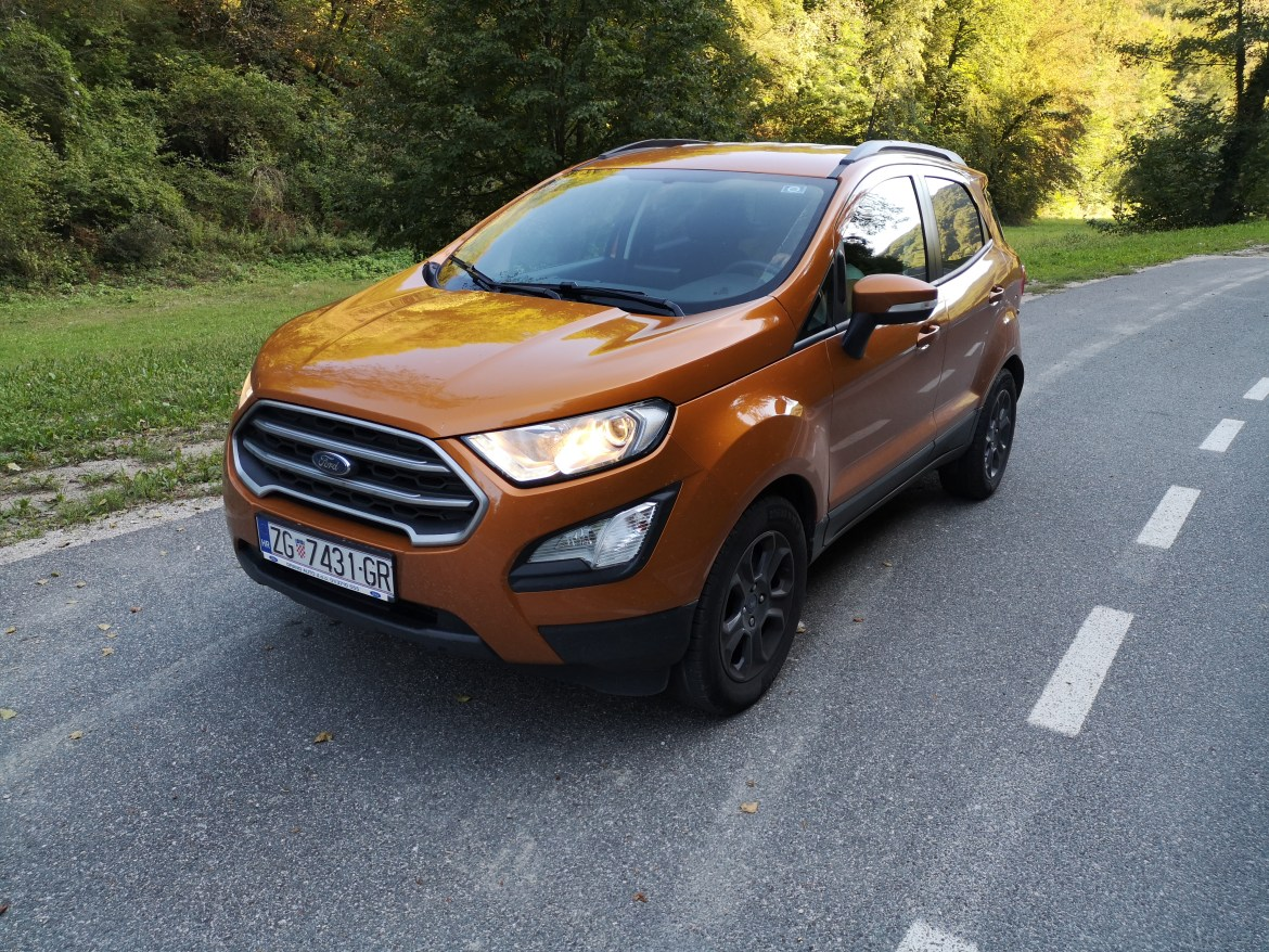 Test: Ford EcoSport 1.0 Ecoboost 125 MCA Business