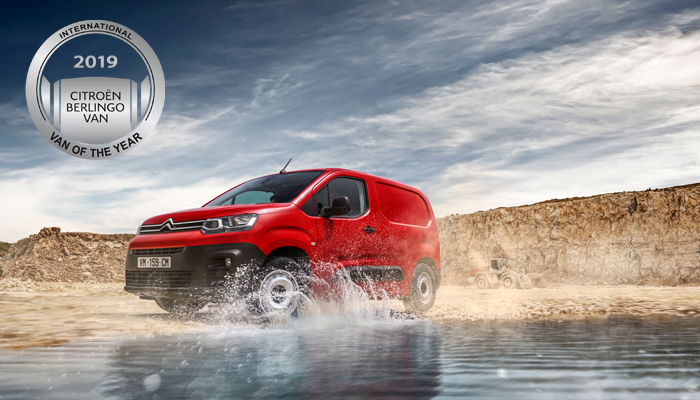 Citroën Berlingo Furgon osvojio je nagradu International van of the year 2019