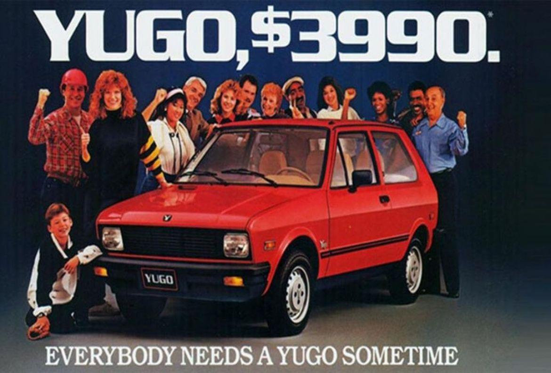 Yugo je 1987. bio Space Shuttle za Hyundai, ali je propao, a korejski modeli su postali najpouzdaniji