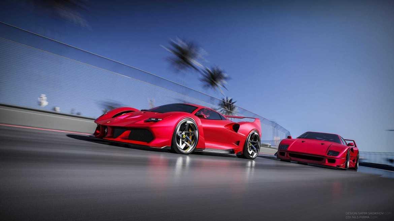 Ovako bi mogao izgledati novi Ferrari F40