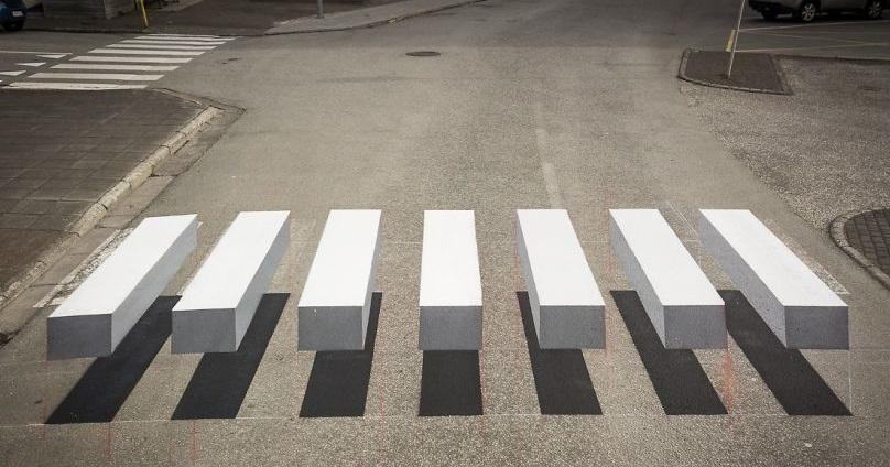 3D pješački prijelazi usporavaju vozače i povećavaju sigurnost