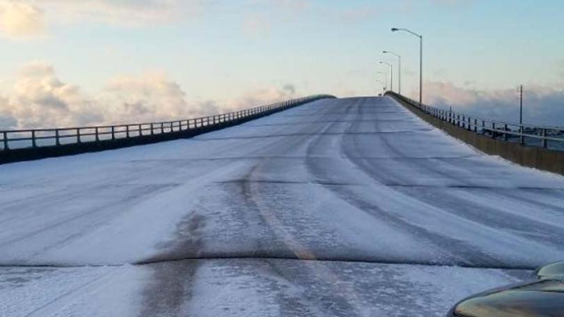 Vozači oprez: Most i nadvožnjak se lede brže od ceste