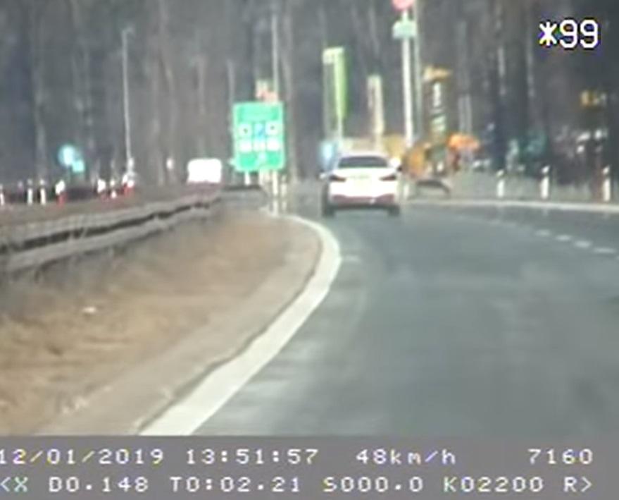 MUP objavio video vozača BMW-a koji juri 250 km/h