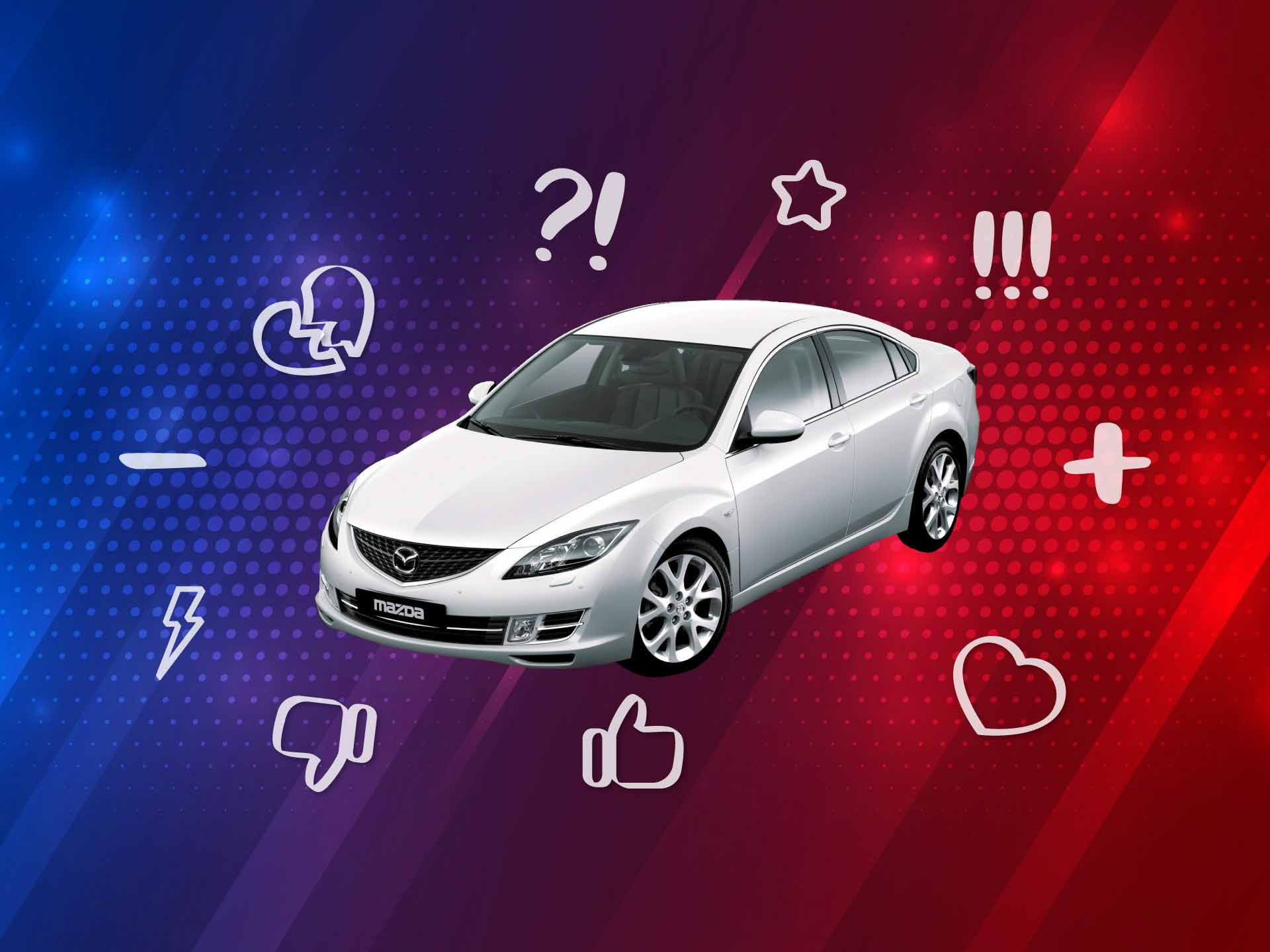 Mazda6 II (GH): отзывы владельцев, плюсы и минусы