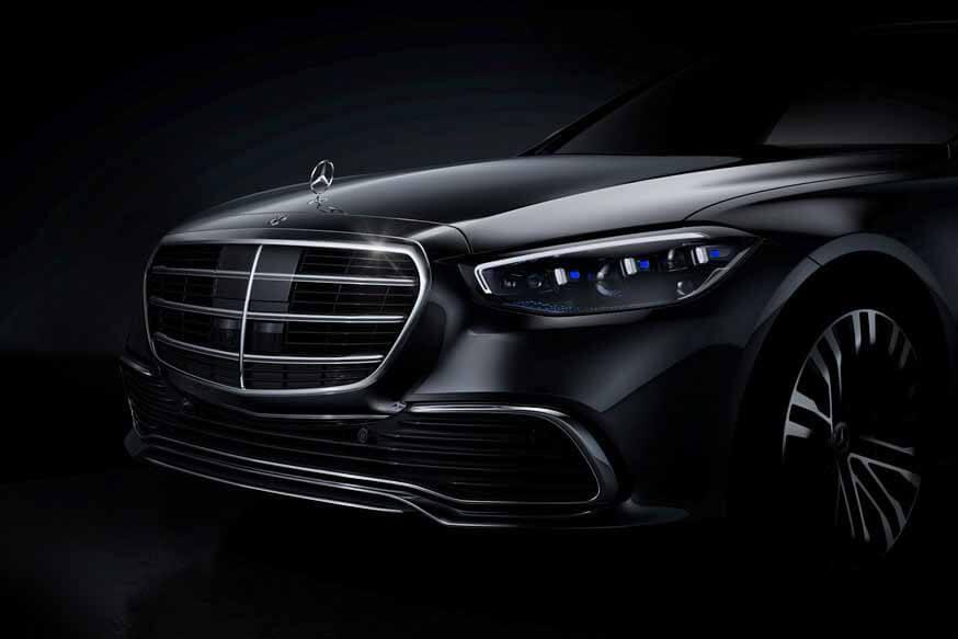 Новый Mercedes S-Class уже раскрыт, но немцы хотят «интриги»: первое официальное фото