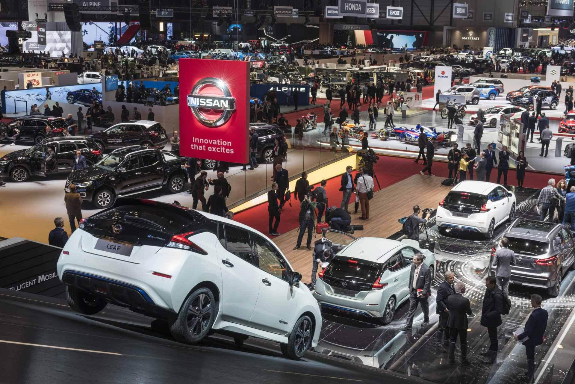 Следующий Женевский автосалон пройдет в 2022 году и в новом формате