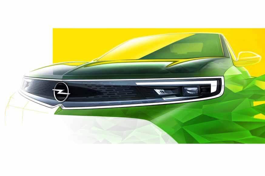 Opel начал выпускать кроссовер Mokka второго поколения: первое изображение без камуфляжа