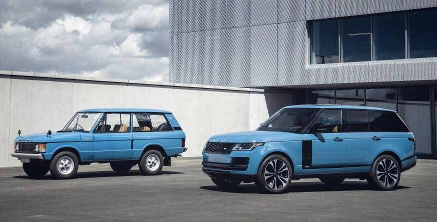 Range Rover Fifty. Фото Jaguar Land Rover