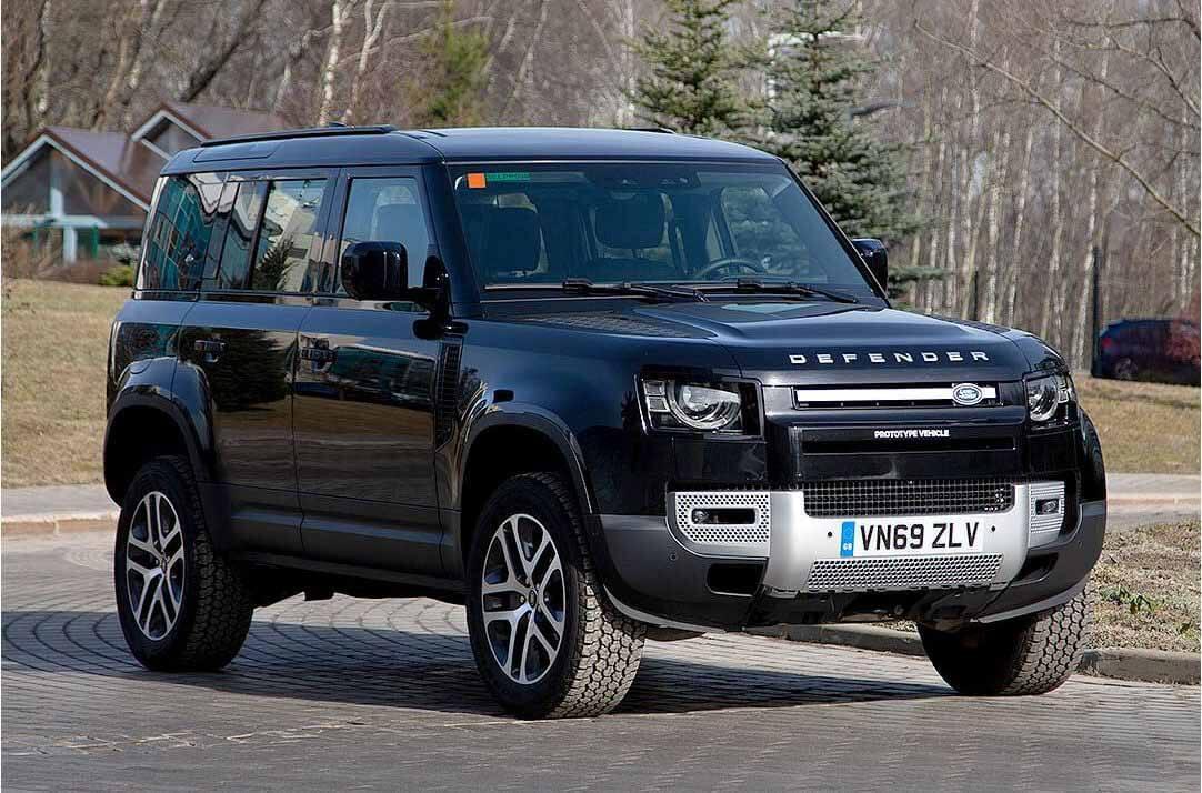 Новый Land Rover Defender. Фото Jaguar Land Rover