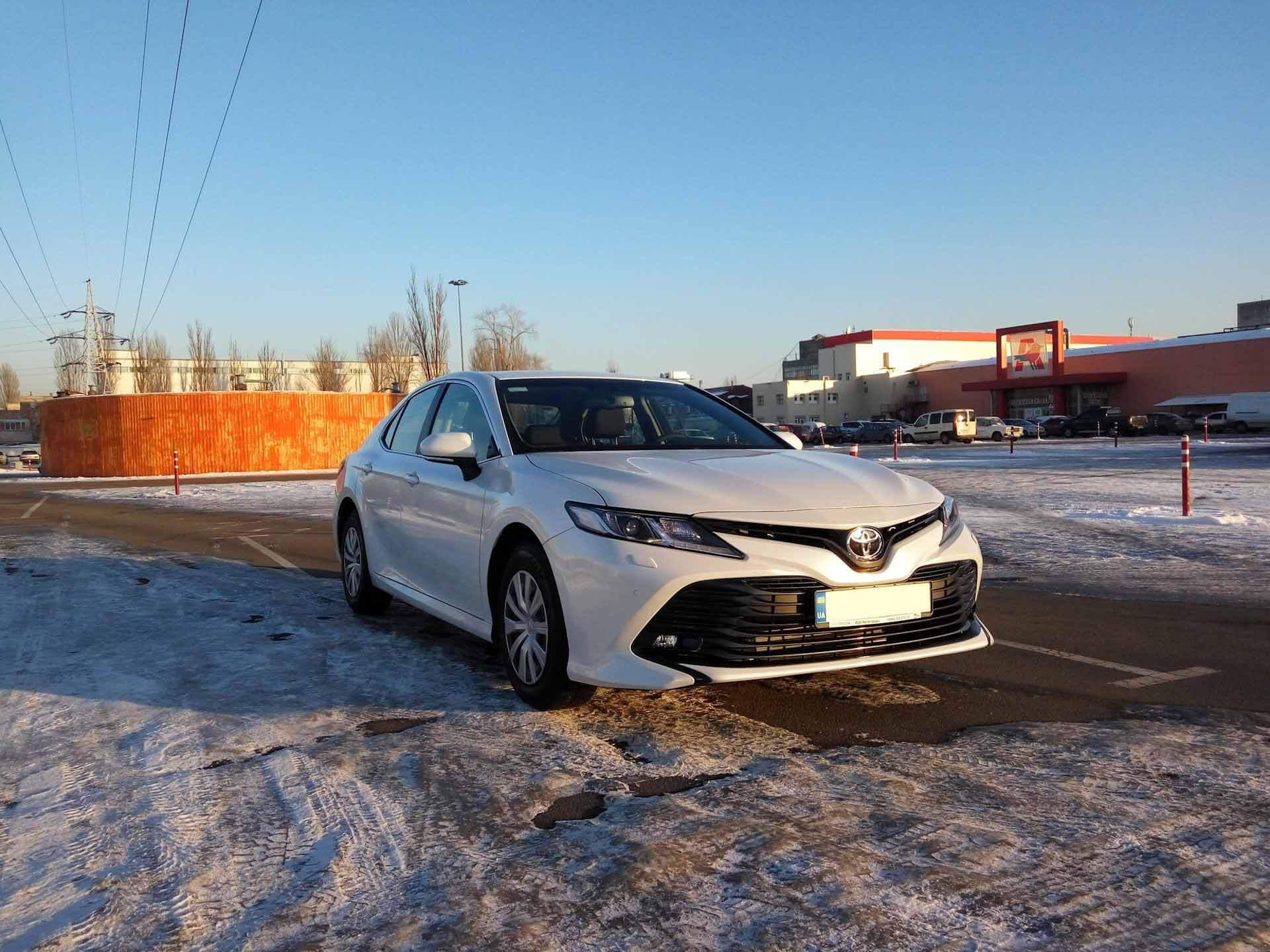 Рухнул за зиму?  Как Toyota Camry XV70 переживает холодное время года