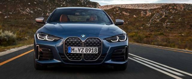 BMW 4 серии второго поколения отличается спорным дизайном