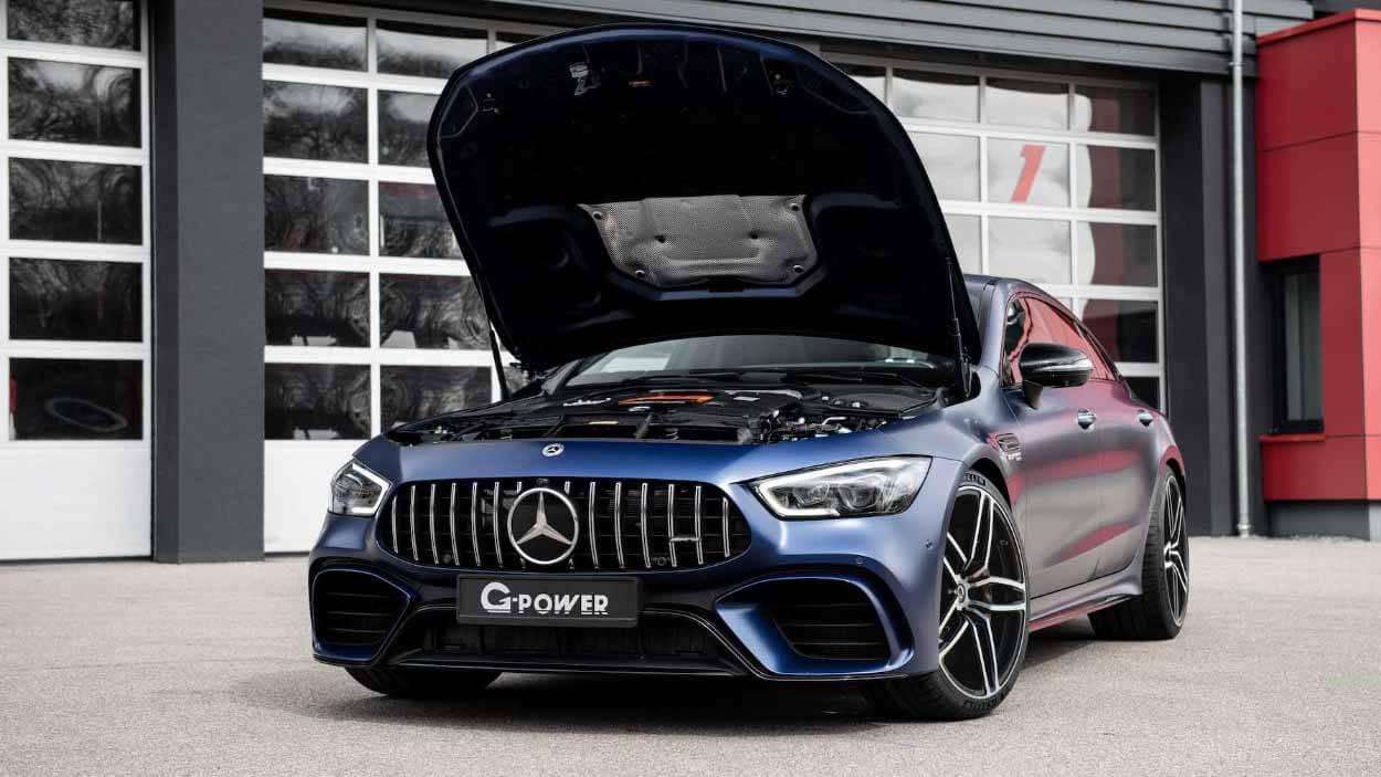 Mercedes-AMG GT 63 S от G-Power