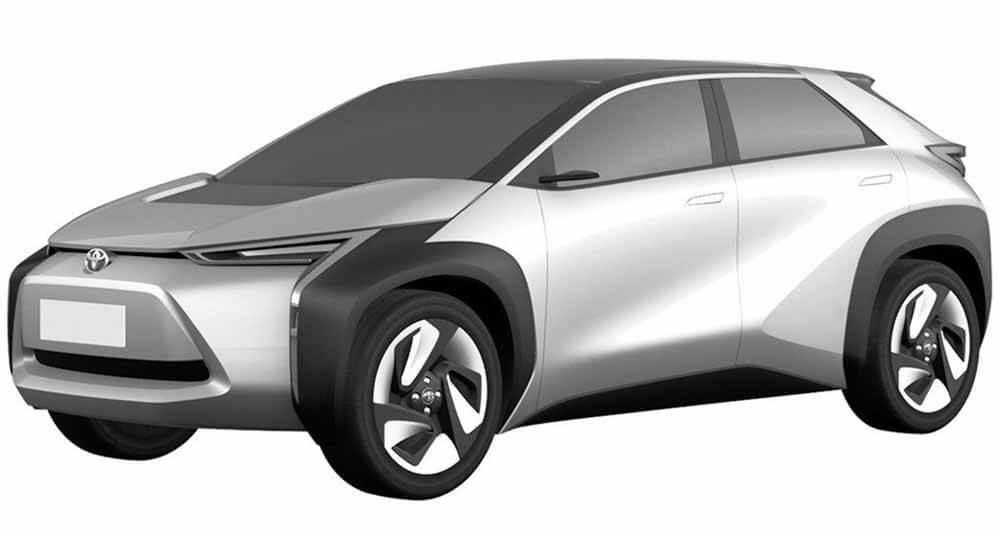 Электрический кроссовер Toyota