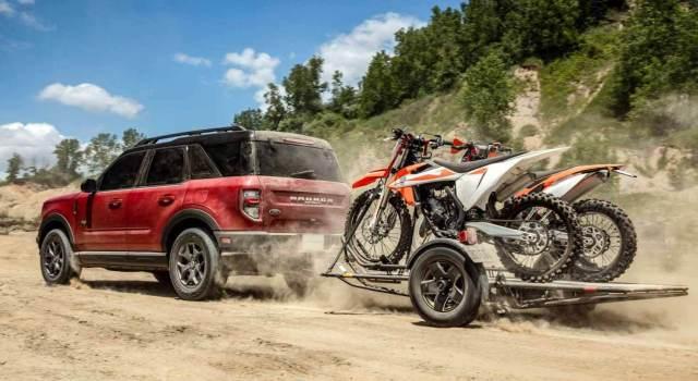 Семейство Ford Bronco включает в себя кроссовер с опорным кузовом