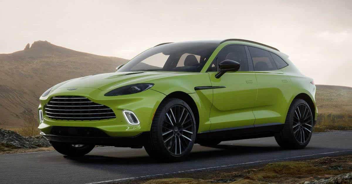 Кроссовер Aston Martin выйдет в нескольких новых версиях - Motor
