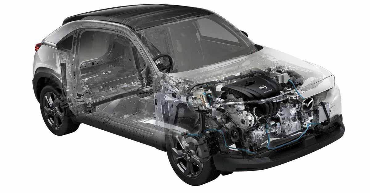 Mazda разрабатывает водородный роторный двигатель - Motor