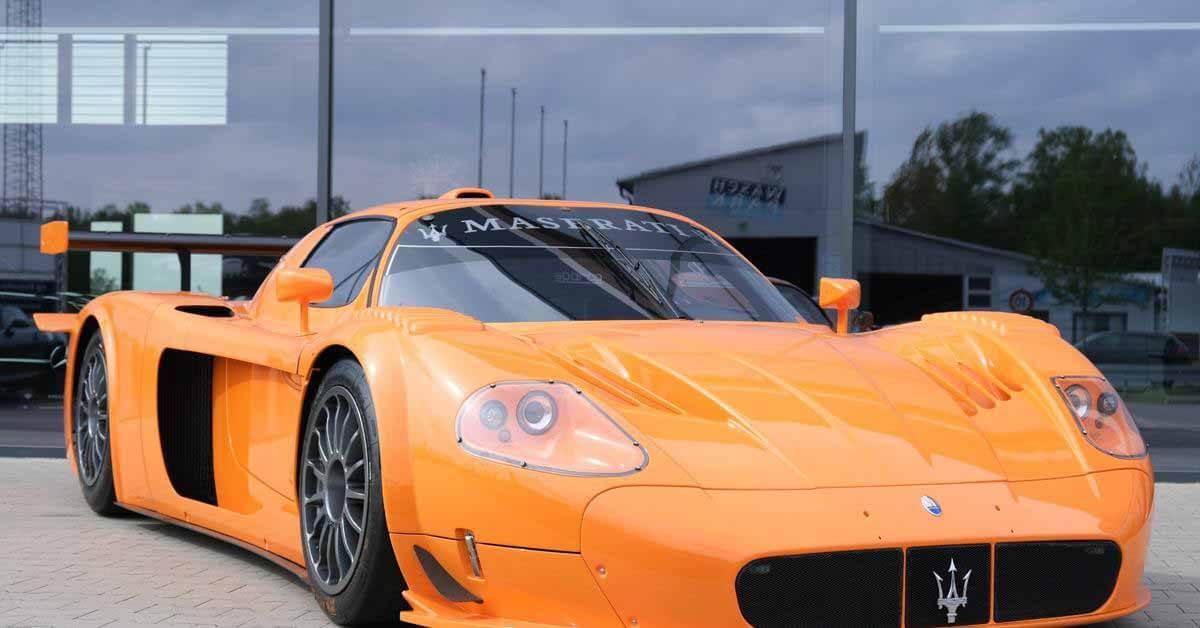 Посмотрите на суперкар Maserati стоимостью в четверть миллиарда рублей - Motor