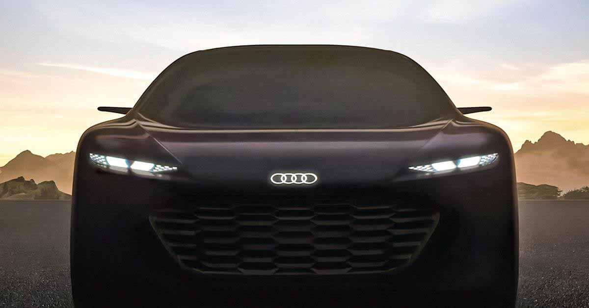 Audi показала переднюю часть роскошного электромобиля Grandsphere - Motor