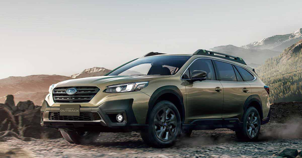Кросс-универсал Subaru Outback получил новый турбомотор 1.8