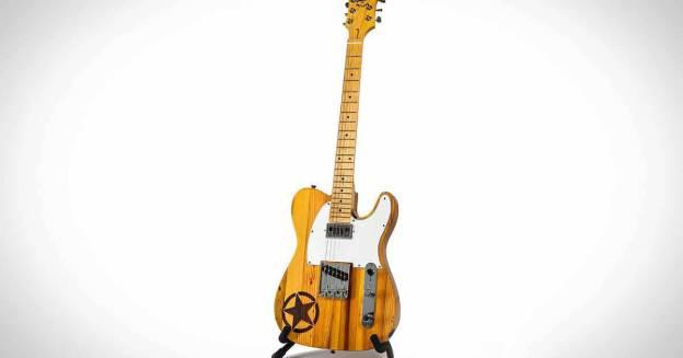 Jeep выпустил гитару из дерева из заброшенных домов Детройта.  Вы можете купить это