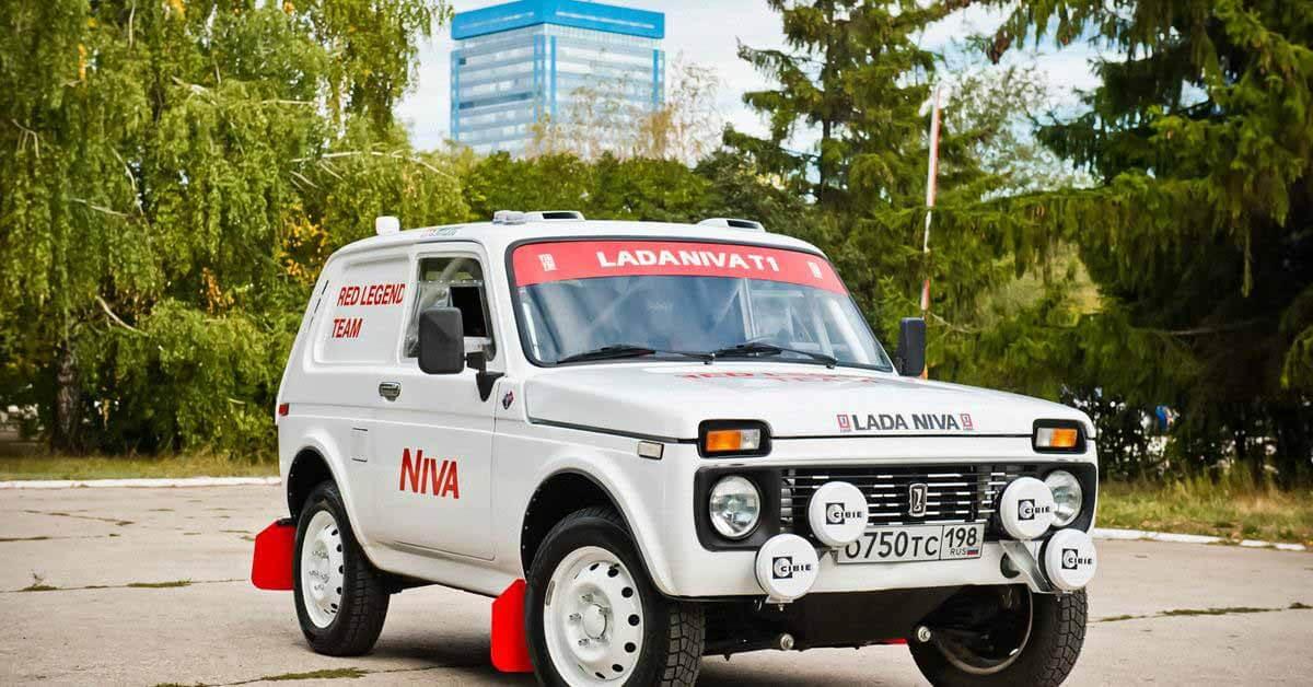 Как будет выглядеть Lada Niva, которая примет участие в «Дакаре»: первое официальное фото