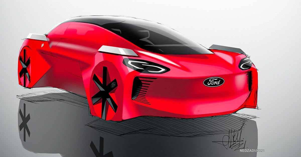Взгляните на концепт Ford Flying Car, созданный 8-летними