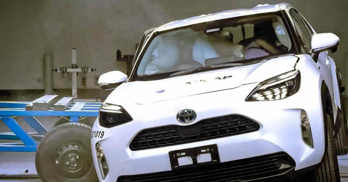 Кроссовер Toyota блестяще справился с краш-тестами - Motor