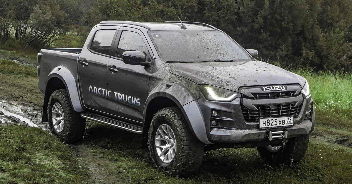Isuzu привезет в Россию экстремальный D-Max от Arctic Trucks - Motor