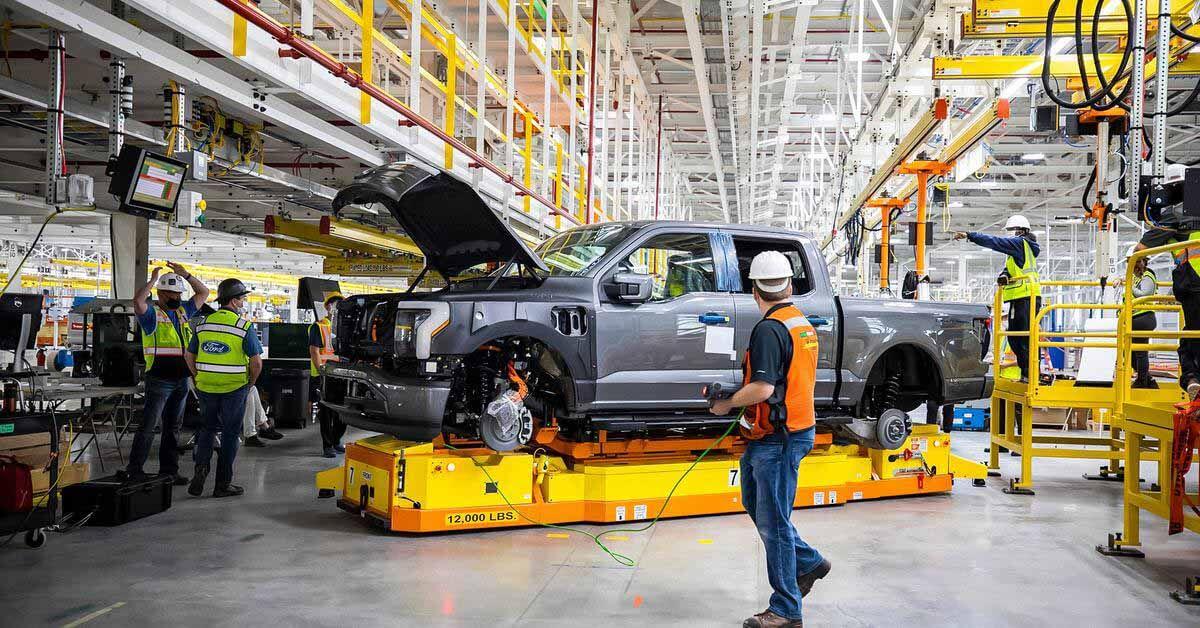 Ford построит четыре новых завода и вложит 7 миллиардов долларов в производство электромобилей