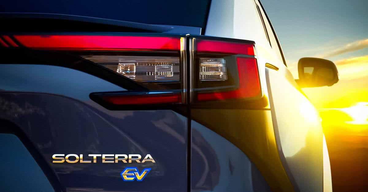Subaru показала на видео свой первый электрический кроссовер Solterra - Motor