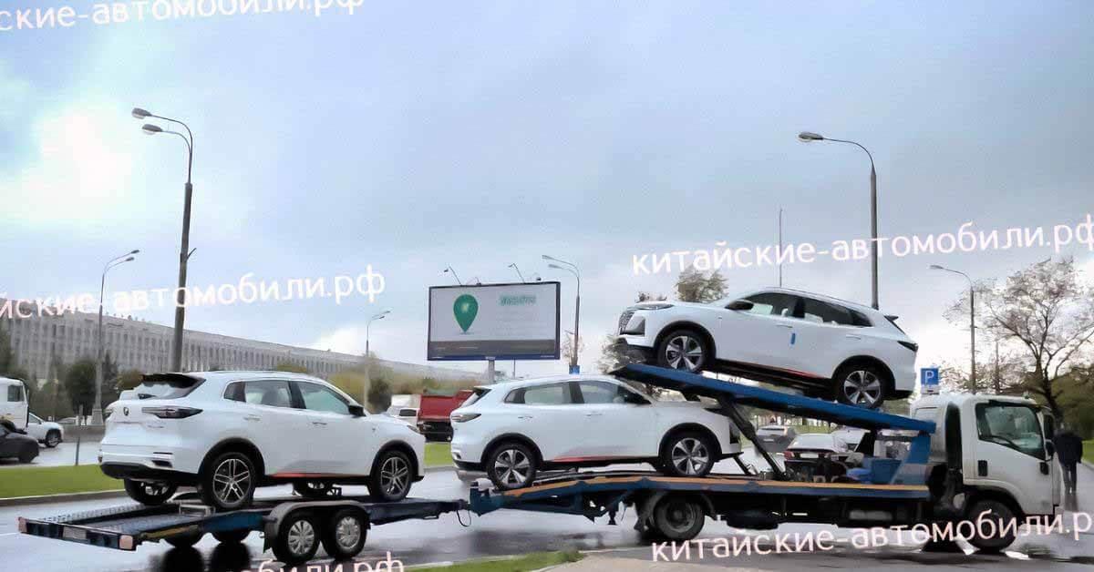 Новые кроссоверы Changan CS55 Plus заметили в России - Motor