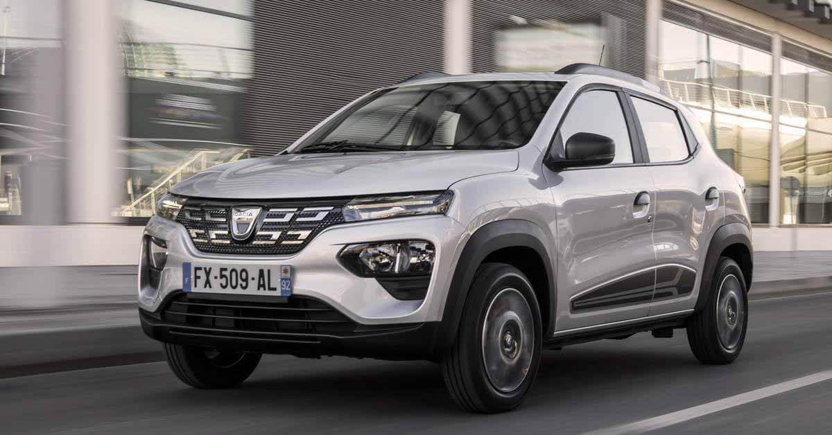 Бюджетный кроссовер Dacia стал самым продаваемым электромобилем - Motor