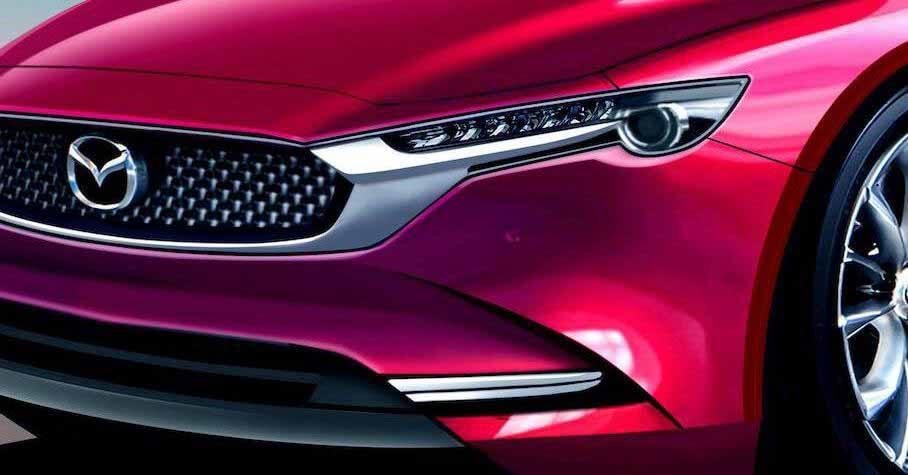 Mazda6 сменит поколение и станет гибридом - Motor