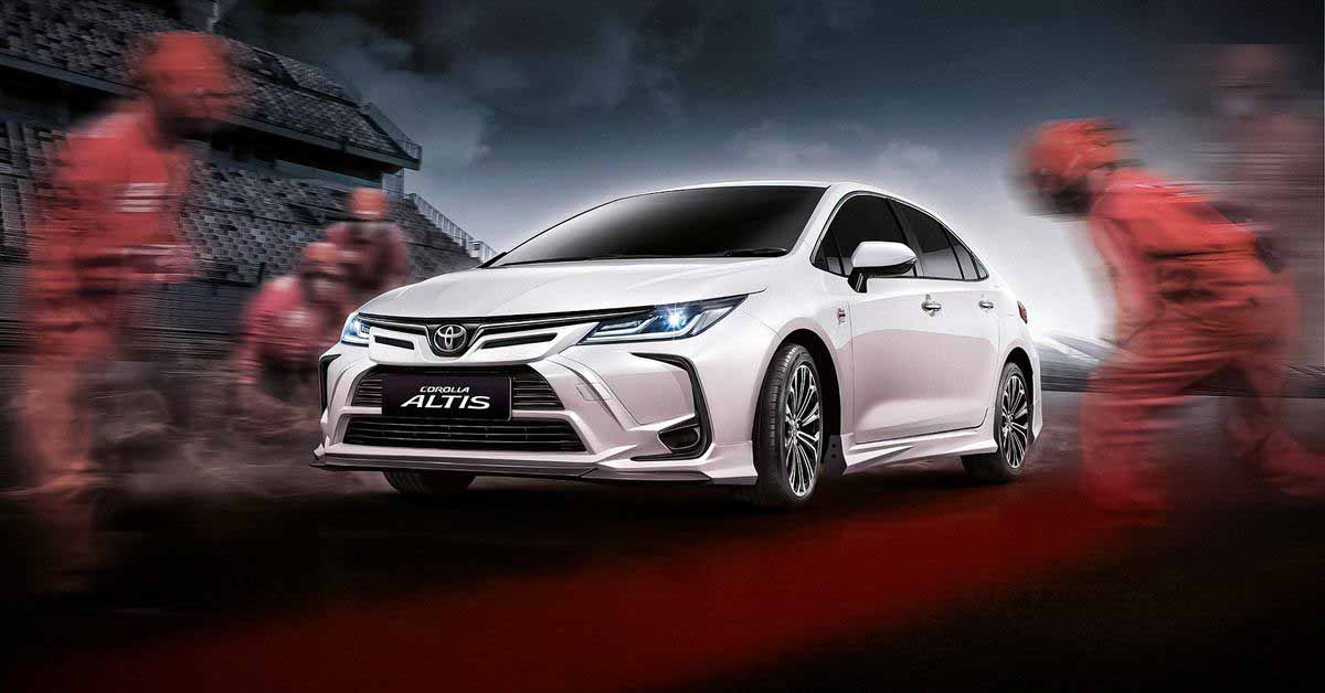 Новая спецверсия Toyota Corolla посвящена знаменитому гоночному треку - Motor