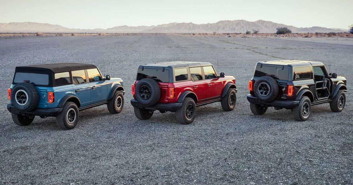 Ford уже готовит рестайлинг внедорожника Bronco - Motor