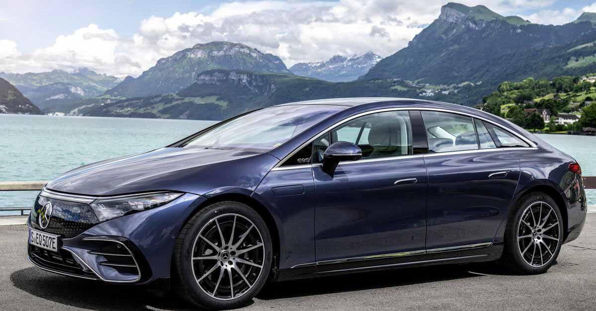 Автономность Mercedes-Benz EQS оказалась на треть хуже заявленной - Motor