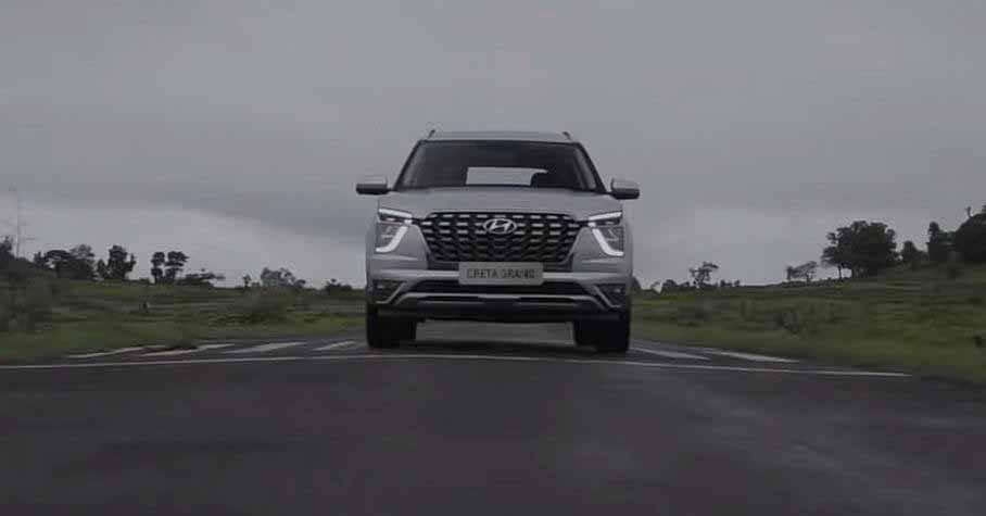 Hyundai впервые показала на видео семиместный Creta Grand - Motor