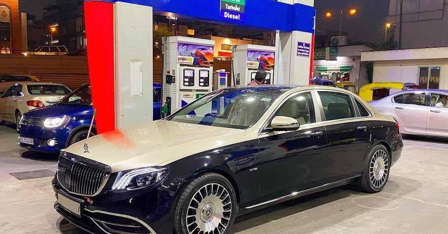 Китайцы превратили Mercedes-Benz E-Class в Maybach за 100 тысяч рублей - Motor