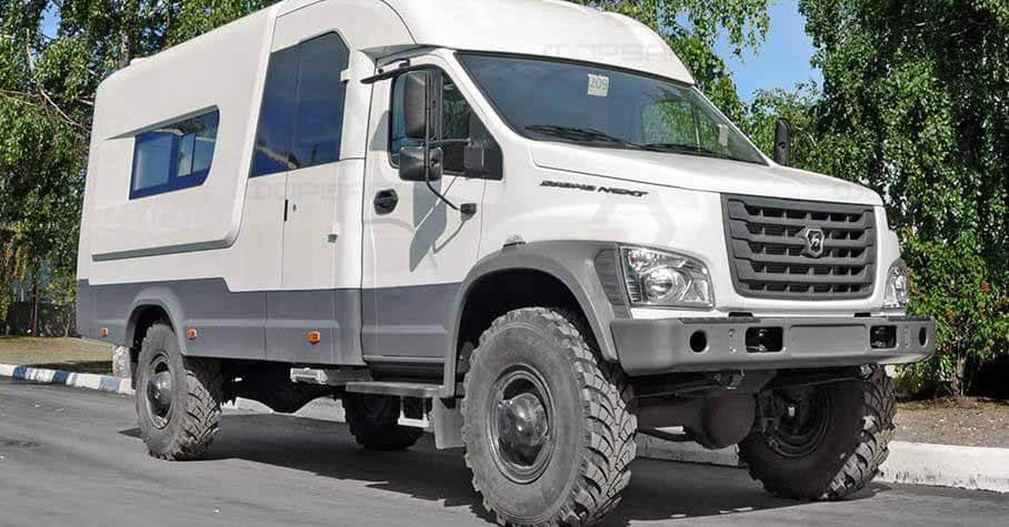 Стартовали продажи внедорожных автодомов на базе ГАЗ «Садко-NEXT» - Мотор.