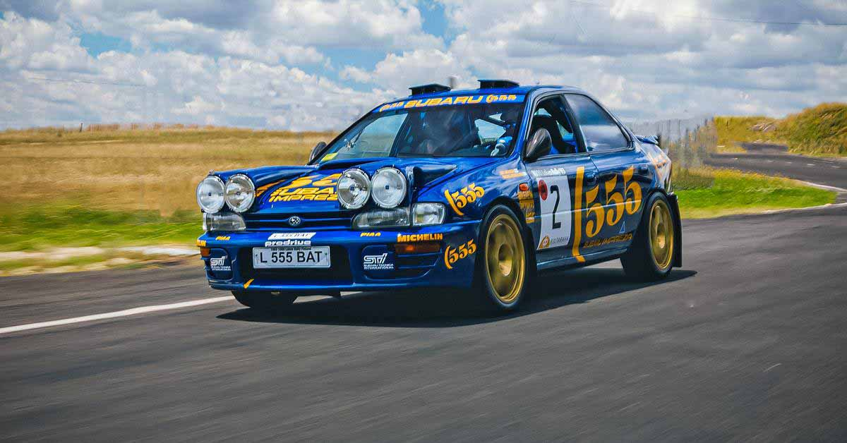 Первая Subaru Impreza, набравшая очки в мировом ралли, будет продана с аукциона за рекордную сумму