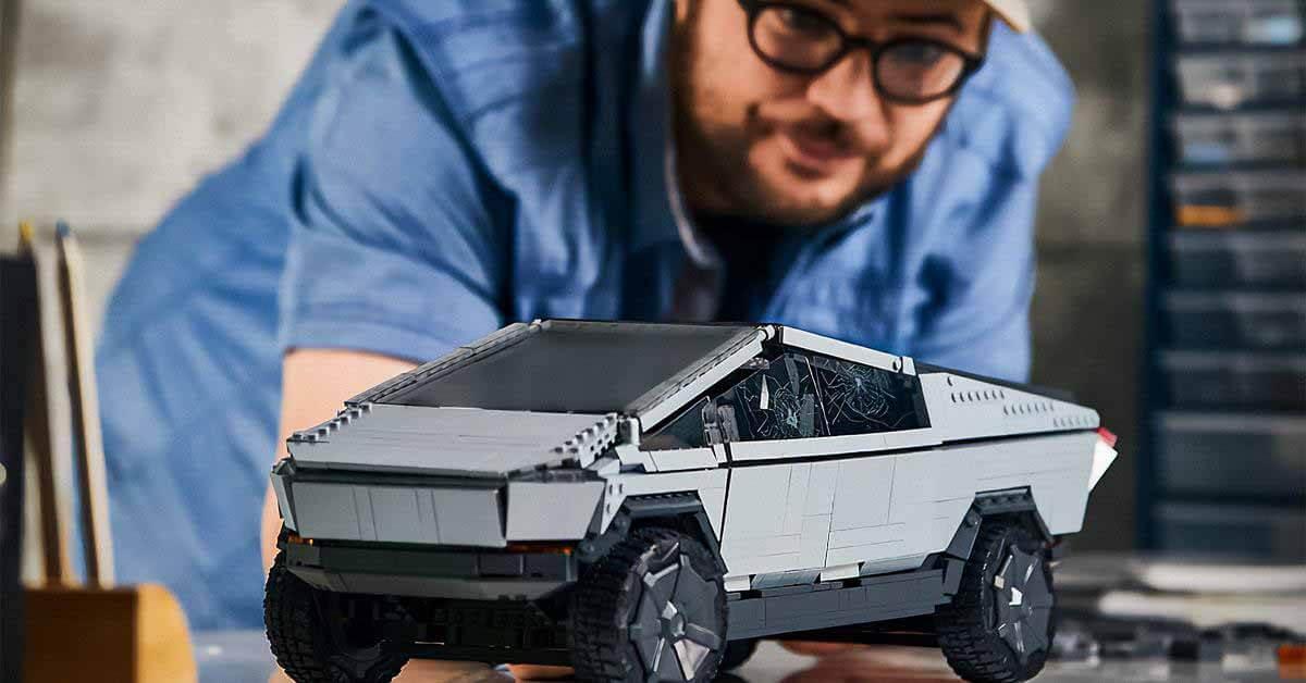 Mattel выпускает пикап Tesla Cybertruck с треснувшим стеклом - Motor