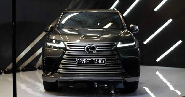 каким оказался самый роскошный внедорожник Lexus нового поколения - Лаборатория - Мотор