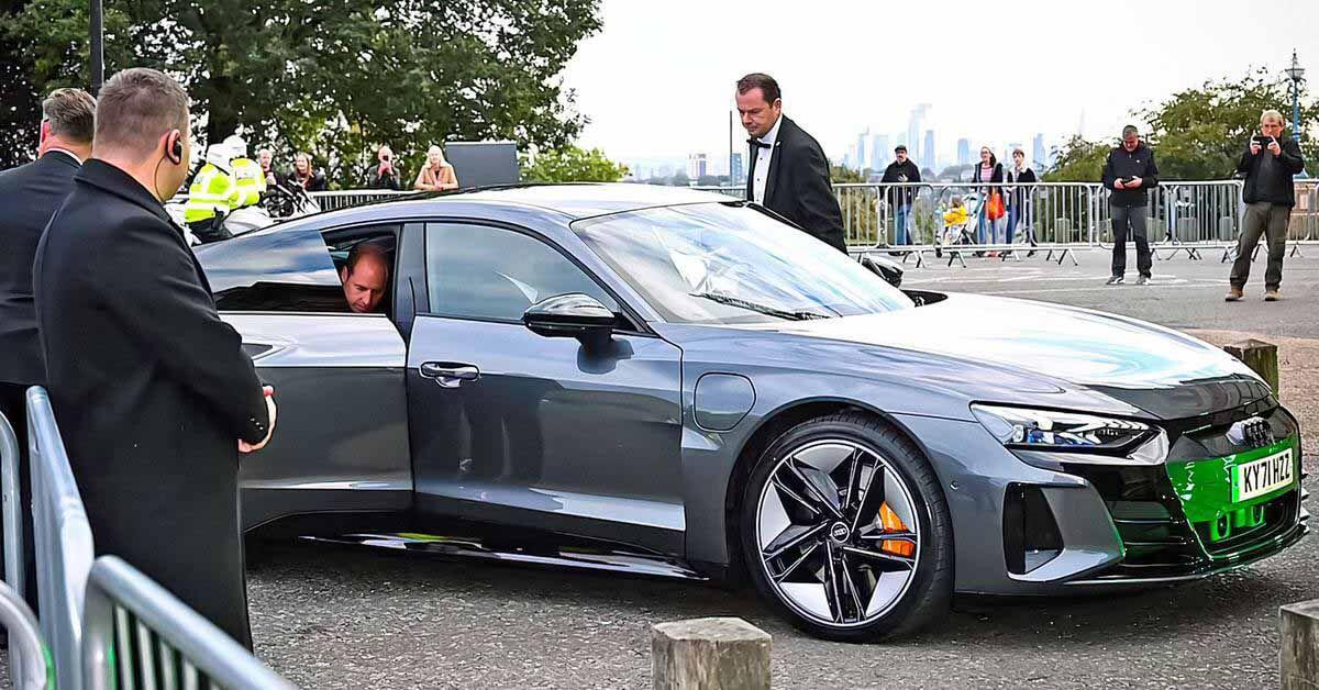 Принц Уильям с женой перешли на электромобиль Audi за 11 миллионов рублей - Motor.ru