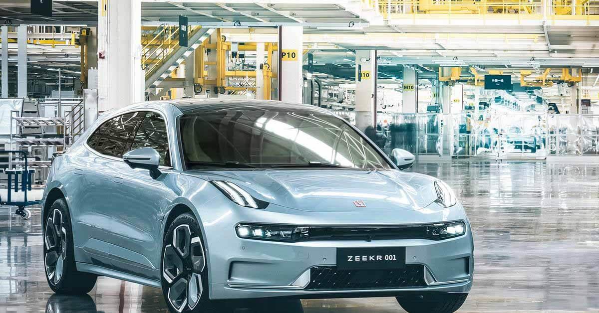 Конкурент Tesla Geely запускает первый электромобиль - Motor