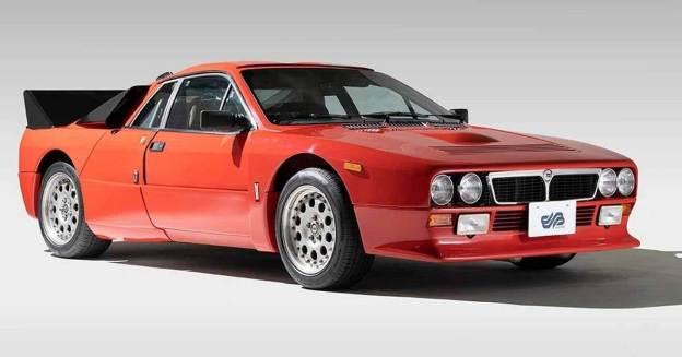 Первый серийный спорткар Lancia 037 Stradale будет продан с аукциона